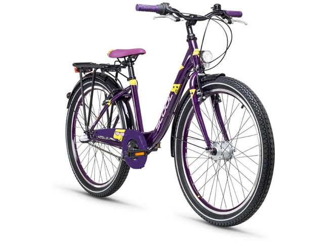 s'cool Emoji wave 24 3-S - Vélo enfant - violet